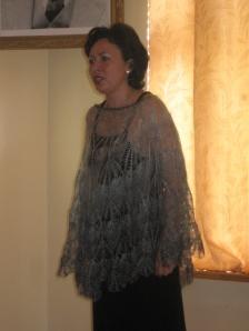 Виктория Рожковская на сцене Уваровского дома